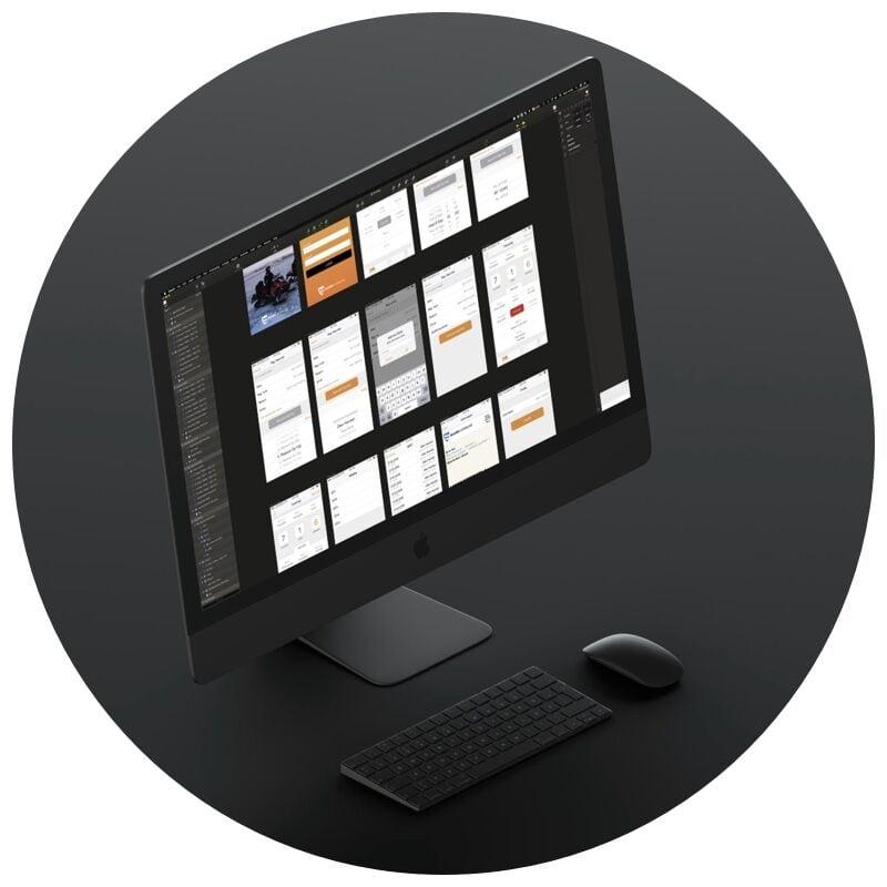 Design av mobil app - appdesign