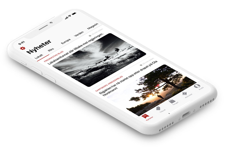 App prototype - Studio X