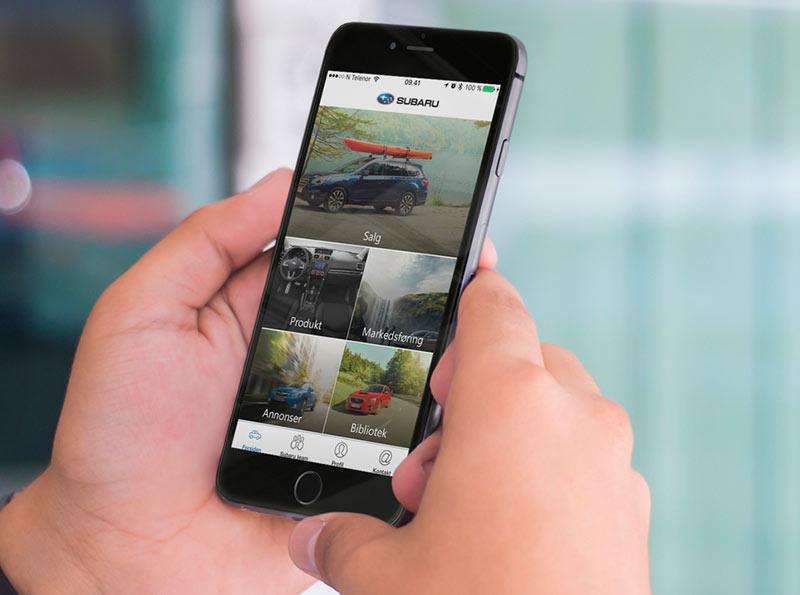 Subaru app